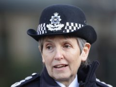Metropolitan Police Commissioner Dame Cressida Dick has faced calls to resign (Yui Mok/PA)