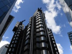 Insurance market Lloyd's of London has said payouts for Covid-19 disruption are set to hit a record £6.2 billion for 2020 as it swung to an £887 million annual loss (PA)