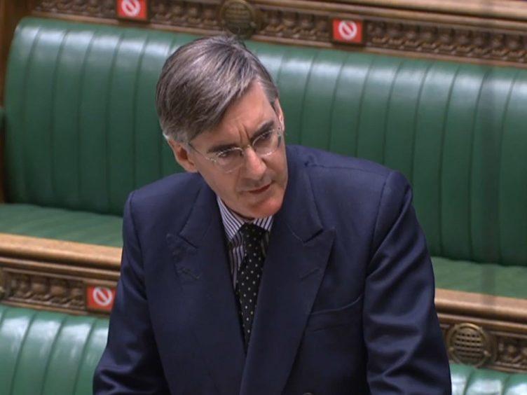 Jacob Rees Mogg (House of Commons/PA)