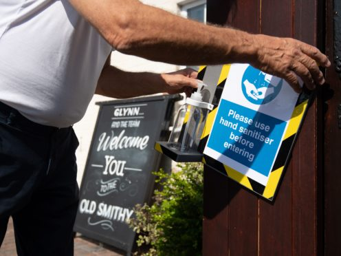 Hospitality and retail bosses have warned that the use of vaccine passports or certification for customers entering venues could face 'legal concerns' and create enforcement problems for businesses (Joe Giddens/PA)