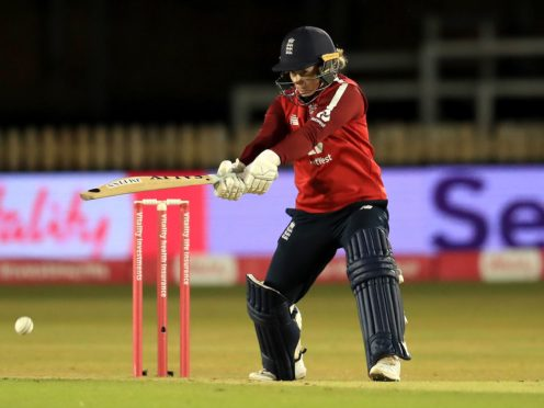 Tammy Beaumont top scored in England's successful run chase (Mike Egerton/PA)