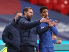 Gareth Southgate (left) planned to call up Jude Bellingham on Thursday (Carl Recine/PA)