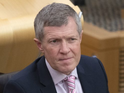 Willie Rennie began his election tour in the Scottish Borders (Jane Barlow/PA)