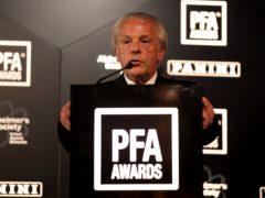 Maheta Molango is set to replace Gordon Taylor, pictured, as PFA chief executive (Steven Paston/PA)
