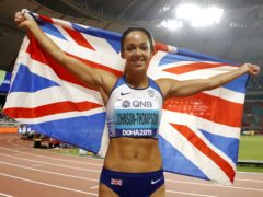 Katarina Johnson-Thompson will be among the favourites at the rearranged Olympics this summer (Martin Rickett/PA)