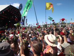 The organisers of the Glastonbury festival have announced a global event to be livestreamed from Worthy Farm on May 22 (Yui Mok/PA)