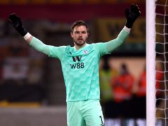 Jack Butland joined Crystal Palace from Stoke in the extended transfer window last October (PA)