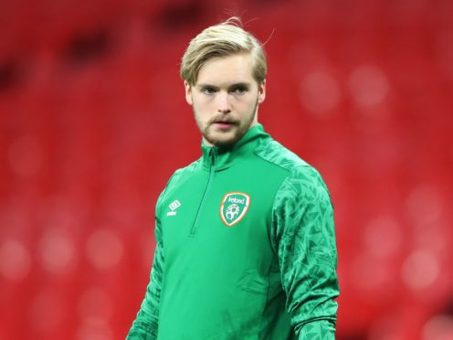 Keeper Caoimhin Kelleher faces a fight for fitness ahead of the Republic of Ireland's opening World Cup qualifier in Serbia (Nick Potts/PA)