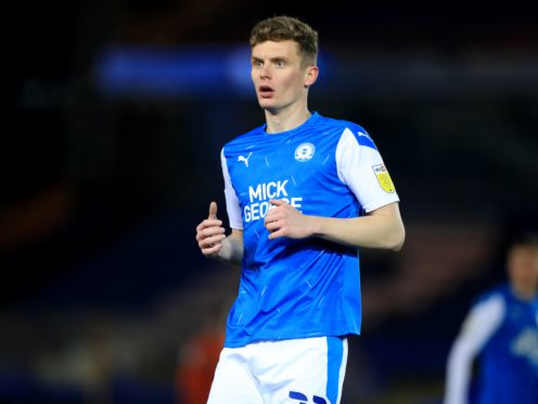 Peterborough's Ethan Hamilton is suspended for the League One clash with Portsmouth (Mike Egerton/PA)