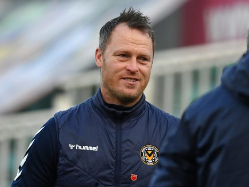 Michael Flynn's Newport are flying high in League Two (Simon Galloway/PA)