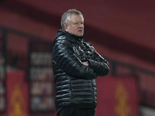 Chris Wilder wants to remain as Sheffield United manager next season (Tim Keeton/PA)
