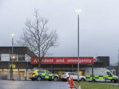 The Royal Alexandra Hospital in Paisley (Jane Barlow/PA)