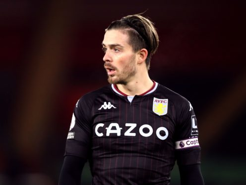 Aston Villa skipper Jack Grealish misses out for a third game due to a lower leg injury (Naomi Baker/PA)
