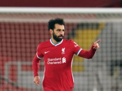 Mohamed Salah believes the end of the season will get better for Liverpool (Jon Super/PA)
