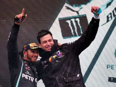 Toto Wolff said he hopes Lewis Hamilton signs a new deal with Mercedes (PA Wire/PA Images)