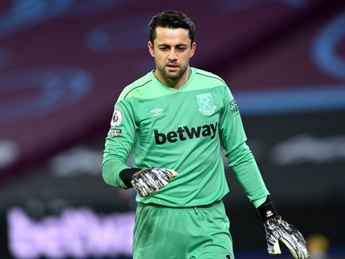 Lukasz Fabianski has an arm injury (Neil Hall/PA)