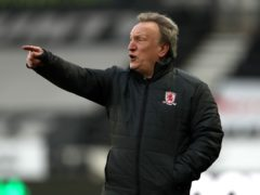 Middlesbrough manager Neil Warnock was bewildered by refereeing decisions in the 2-1 defeat at Swansea (Bradley Collyer/PA)
