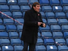 Kilmarnock manager Tommy Wright (Andrew Miligan/PA)