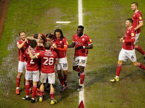 Barnsley's impressive winning run has seen them climb up the table (Zac Goodwin/PA)