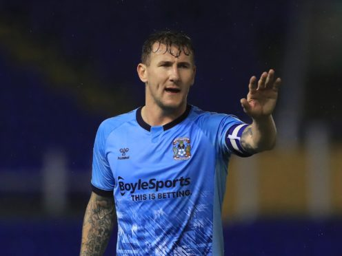 Kyle McFadzean is suspended for Coventry (Mike Egerton/PA)
