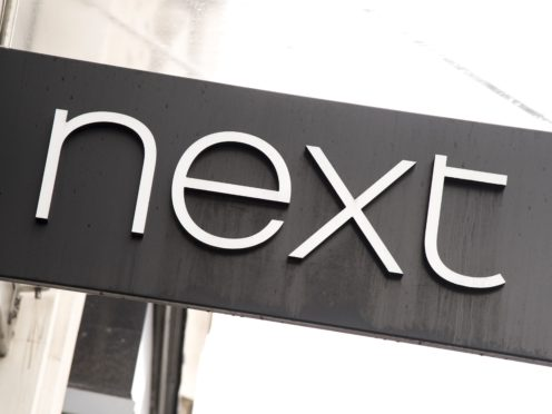 Retailer Next will unveil its full-year sales figures on Thursday (Ian West/PA)