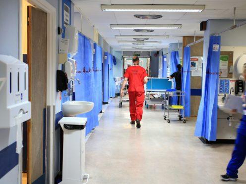 An NHS hospital ward (Peter Byrne/PA)