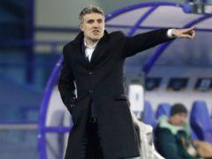 Dinamo head coach Zoran Mamic knows his side are in for a tough time (Darko Bandic/AP)