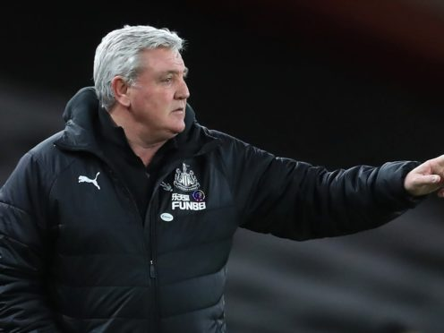 Newcastle head coach Steve Bruce has vowed not to walk away from his job (Adam Davy/PA)