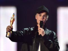 Justin Bieber (Dominic Lipinski/PA)