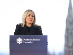 Deputy First Minister Michelle O'Neill criticised the British government (Press Eye/PA)