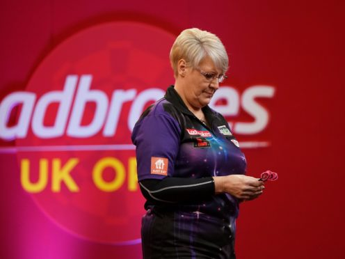 Lisa Ashton became the first woman winner at the UK Open since 2005 (Zac Goodwin/PA)