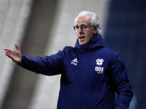 Mick McCarthy lost his first game as Cardiff boss in the weekend defeat to Watford. (Tim Goode/PA)