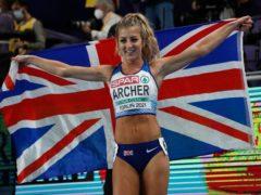 Holly Archer's celebrations were quickly cut short (Darko Vojinovic/AP)