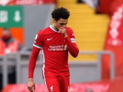 Liverpool's Trent Alexander-Arnold has been left out of the England squad (Clive Brunskill/PA).