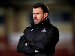 Andy Butler's side are two matches without a win (Nick Potts/PA)