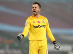 Lukasz Fabianski has signed a new West Ham contract (Catherine Ivill/PA)