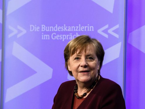 German Chancellor Angela Merkel is not standing for a fifth term in September (Clemens Bilal/Pool via AP)