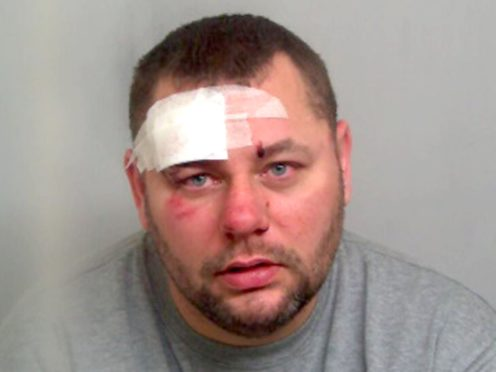 Craig Garton, 42, who has been sentenced at Chelmsford Crown Court to life in prison with a minimum term of 15 years for the murder of his friend 41-year-old Dean Clark (Essex Police/PA)
