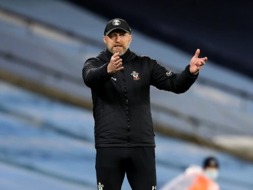 Southampton manager Ralph Hasenhuttl's men failed to build on a bright start against Manchester City (Martin Rickett/PA)