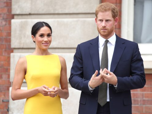 "The official who issued the licence for the Sussexes' wedding says Meghan is ""clearly misinformed"" after the duchess claimed she and Harry had a secret marriage ceremony before their union at St George's Chapel in Windsor (Yui Mok/PA)"