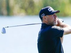 Lee Westwood claimed the halfway lead in the Players Championship (John Raoux/AP)