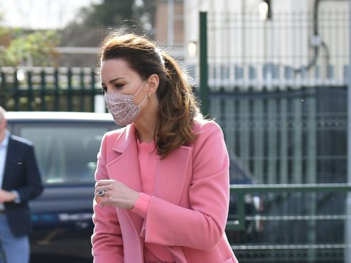 The Duchess of Cambridge has reportedly written to the family of Sarah Everard (Justin Tallis/PA Wire)