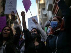 Protesters in Istanbul (AP /Emrah Gurel, File)