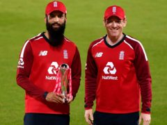 Eoin Morgan (right) values Moeen Ali's contribution to England's white-ball side (Dan Mullan/PA)