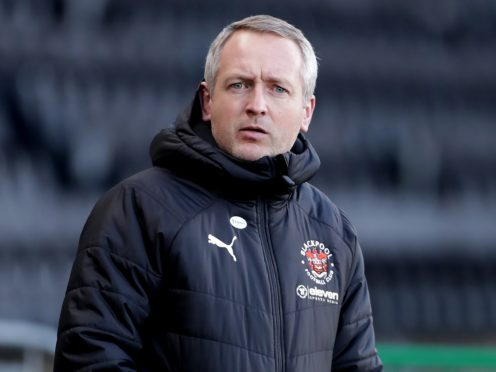 Neil Critchley's side drew 0-0 (Richard Sellers/PA)
