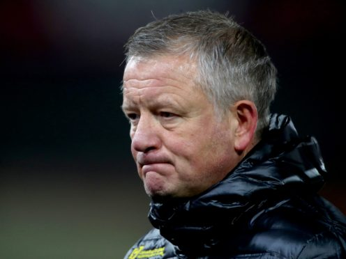 Sheffield United manager Chris Wilder appears set to leave the club (Nick Potts/PA)