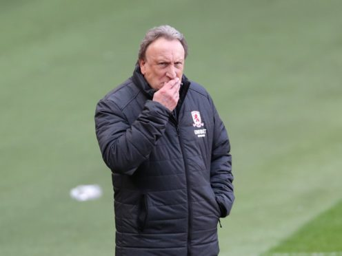 Middlesbrough manager Neil Warnock was impressed by his side's win over Stoke (Richard Sellers/PA).