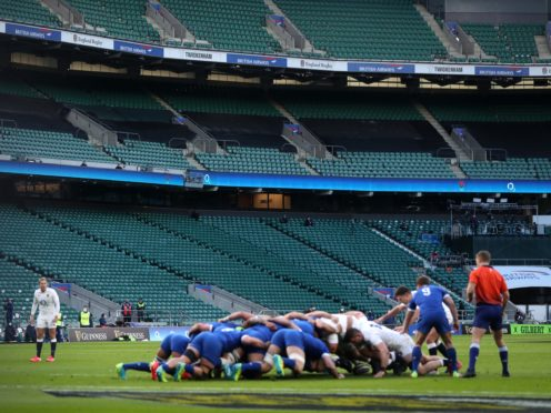 The 2021 Guinness Six Nations tournament was played out against a backdrop of empty stands due to the Covid-19 pandemic (David Davies/PA Images).