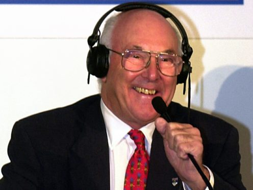 Motor racing commentator Murray Walker has died aged 97 (Michael Stephens/PA)