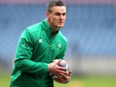 Ireland captain Johnny Sexton is preparing to face England (Jane Barlow/PA)